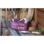 Greenhouse and Shed Tool Tidy Box in Red by Burgon and Ball