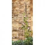 Spiral Steel Garden Obelisk (1.5m) by Smart Garden