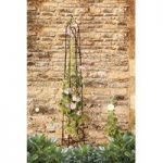 Eiffel Steel Garden Obelisk (1.5m) by Smart Garden