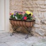Metal Saxon Cradle Patio Planter by Smart Garden