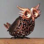 Silhouette Owl Light Garden Sculpture (Solar) by Smart Garden