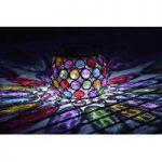 Multi Glow Gem Jar Table Light (Solar) by Smart Solar