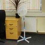 40cm Oscillating Electric Pedestal Fan (45watt) by Kingfisher