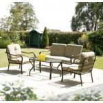 Suntime Ferndown 4 Seater Sofa And Table Set