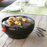 Joya Table Top Barbecue Starter Pack in Black by Barbecook