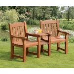 Balmoral Deluxe Companion Duo Love Seat by Suntime