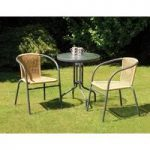 Bambi 3 Piece Garden Bistro Set by Suntime