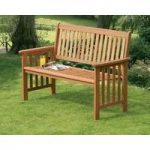Camillion 2 Seater Wooden Garden Bench by Suntime