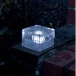 Frosted Ice Cube Lights Pack of 3 (Solar) by Smart Solar