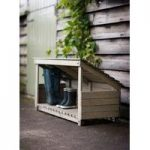 Wooden Wellie Boot Store by Garden Trading