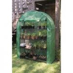 Extra Wide 4 Tier Grow Arc Mini Greenhouse by Gardman