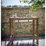 St Mawes Teak Bar Table With Drinks Cooler by Garden Trading