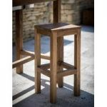 St Mawes Teak Bar Stool by Garden Trading