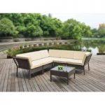 Monroe Garden Corner Sofa and Table Set by Li-Lo Leisure