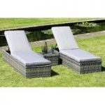Pacific 3 Piece Sun Lounger Set by Li-Lo Leisure