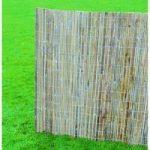 Set of 2 x Split Bamboo Slat Garden Screenings (2m x 4m) by Gardman