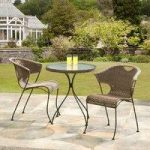 Wadebridge Rattan Garden Bistro Set by Suntime