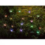 16 LED Colour Changing Flower String Lights (Solar) by Smart Solar