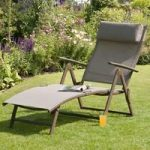 Set Of 2 Havana Mocha Sun Loungers by Suntime