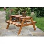 Premium Quality Wooden Picnic Bench by Tom Chambers