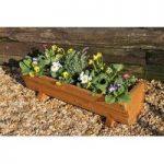 Rosemoor Wooden Trough Garden Planter by Tom Chambers