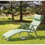 Havana Avocado Sun Lounger by Suntime