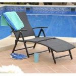 Amalfi Folding Sun Lounger by Suntime