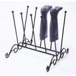 Double Row Wellington Boot Stand by Tom Chambers