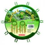 Sweet Pea and Bean Bamboo Cane Support Rings (Pack of 3) by Bosmere