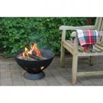Cast Iron Barbecue With Grill by Fallen Fruits