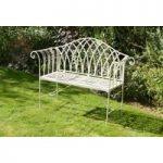 Victoria 2 Seater Metal Garden Bench by Li-Lo Leisure