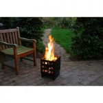 Square Fire Basket by Fallen Fruits