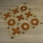Deluxe Wooden Noughts and Crosses (Tic Tac Toe) by Selections
