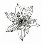 Berkeley Floral Metal Wall Art by Gardman