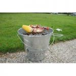 Portable Bucket Barbecue BBQ by Fallen Fruits