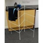 12 Bar 3 Gate Clothes Airer Hanger by Kingfisher