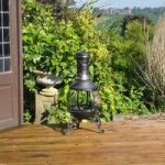 Cast Iron Chiminea by Kingfisher