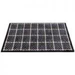 Tweed Design Rubber Backed Cotton Doormat by Gardman
