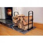 Metal Fireside Log Store by Garland