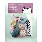 Multipack of Cat Toys by Gardman