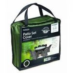 Gardman 8-10 Seater Round Patio Set Cover In Green – Premium Range