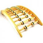 Deluxe Arched Magnetic Therapy Back Rack and Stretcher by HomeClinic