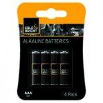 4 x AAA Alkaline Batteries by Gardman