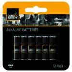 12 x AAA Alkaline Batteries by Gardman