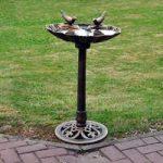 Bronze Effect Bird Bath by Kingfisher