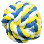 Knotted Rope Ball, Chew and Throw Dog Toy by Gardman