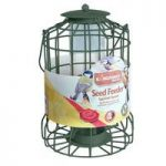 Squirrel Guard Hanging Bird Seed Feeder by Kingfisher