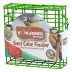 Hanging Suet Cake Bird Feeder by Kingfisher