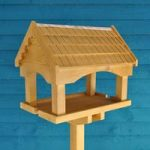Self Assembly Pine Bird Table by Gardman