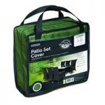 10 Seater Rectangular Patio Furniture Set Cover (Premium) in Green by Gardman
